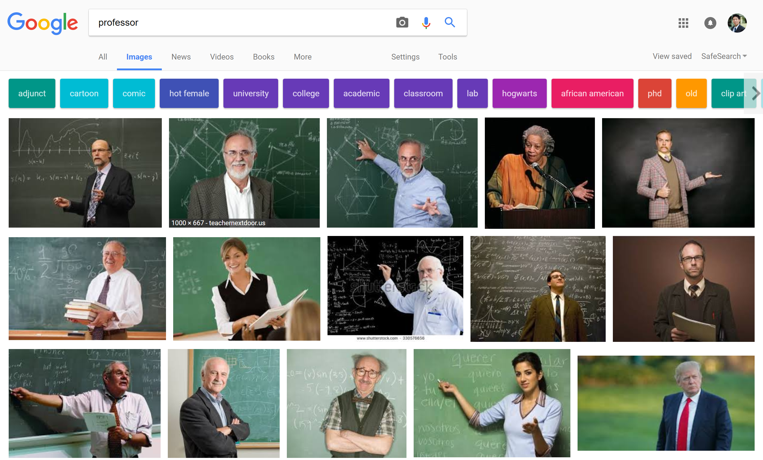 Search Professor
